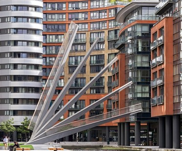 Knight Architects Merchant Square Footbridge, London