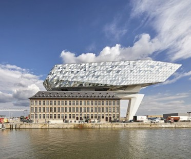 Zaha Hadid's Port House inaugurated in Antwerp