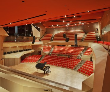 Broissin Architects' Roberto Cantoral Music Hall
