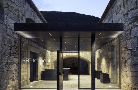 Markus Scherer BBT Infopoint Restoration of the Fortress in Fortezza, Bolzano