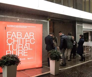 Eco-social designer Luca Gnizio at FAB Milano