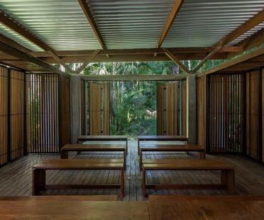 Apiacás Arquitetos Pavilion Una a Barra do Una Brazil