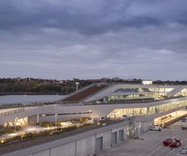 C.F. Møller New Ferry Terminal in Stockholm