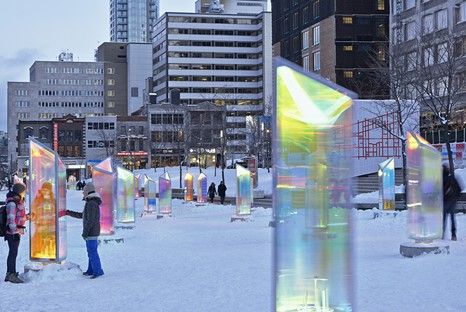 Three interactive installations, from Canada to Europe