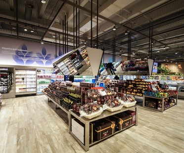 Area-17, Carlo Ratti and Iris Ceramica in the supermarket of the future in Milan