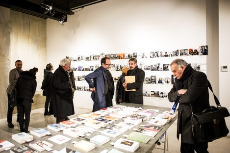 Opening of the Controcampo exhibition at SpazioFMG in Milan