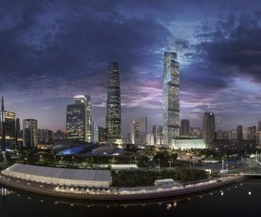 Guangzhou CTF Finance Centre 2 Skyscraper, China