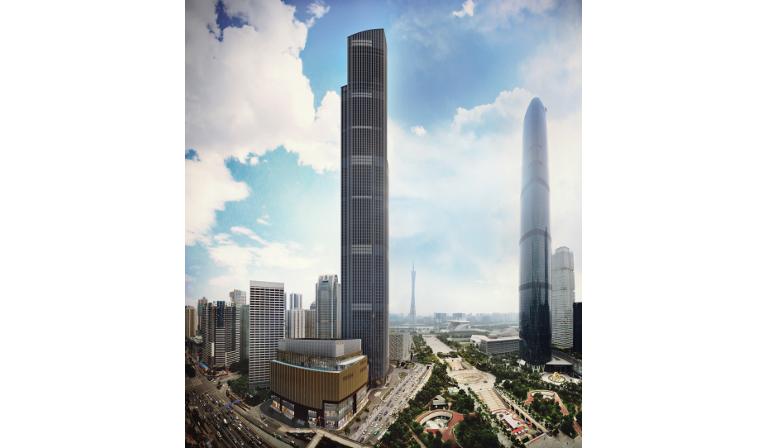 Guangzhou CTF Finance Centre 2 Grattacielo Cina