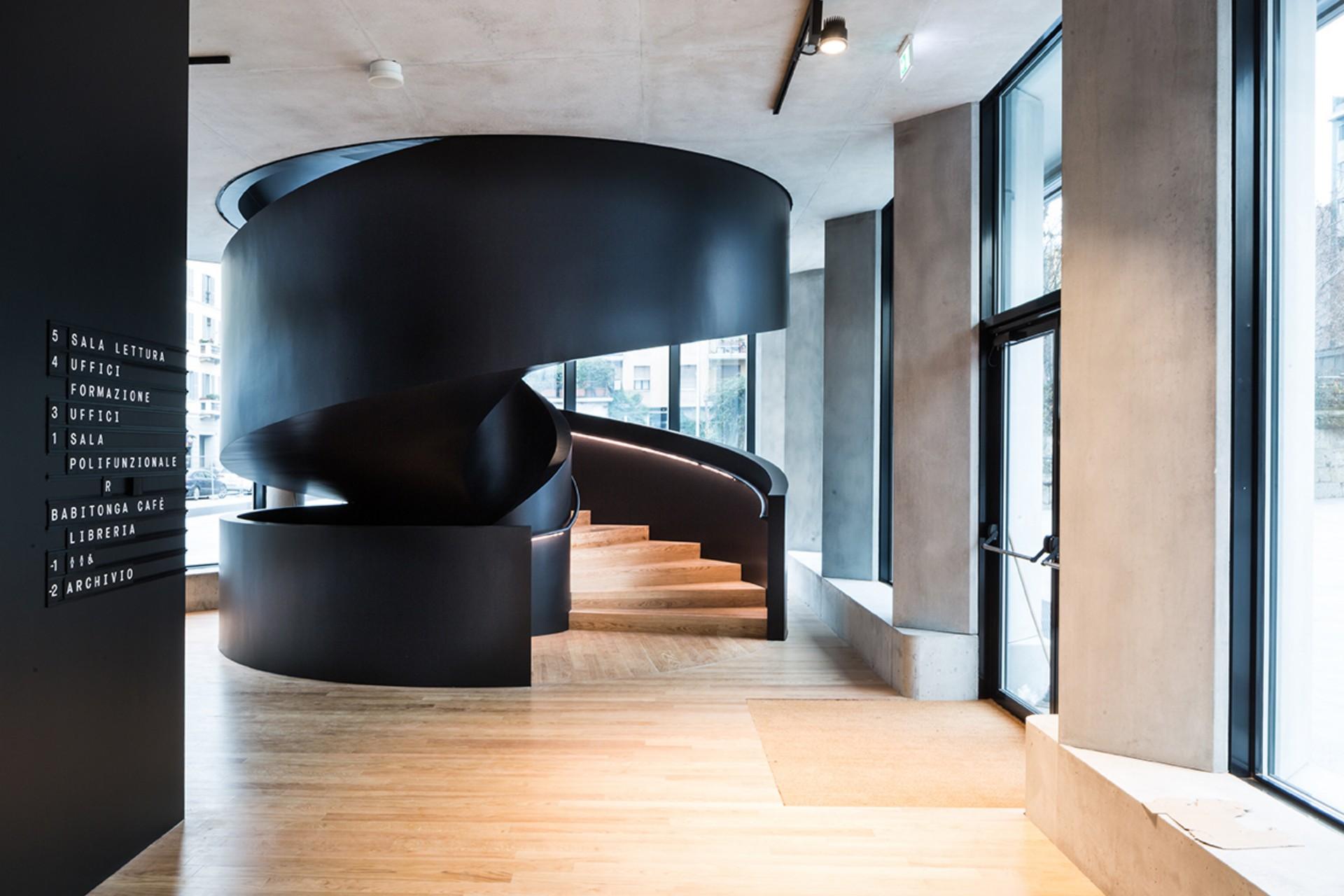 Studio La Sala Milano feltrinelli milan: herzog & de meuron new headquarter of