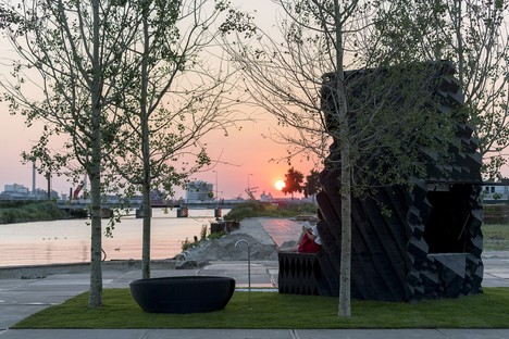 Printed architecture: DUS Architects' Urban Cabin