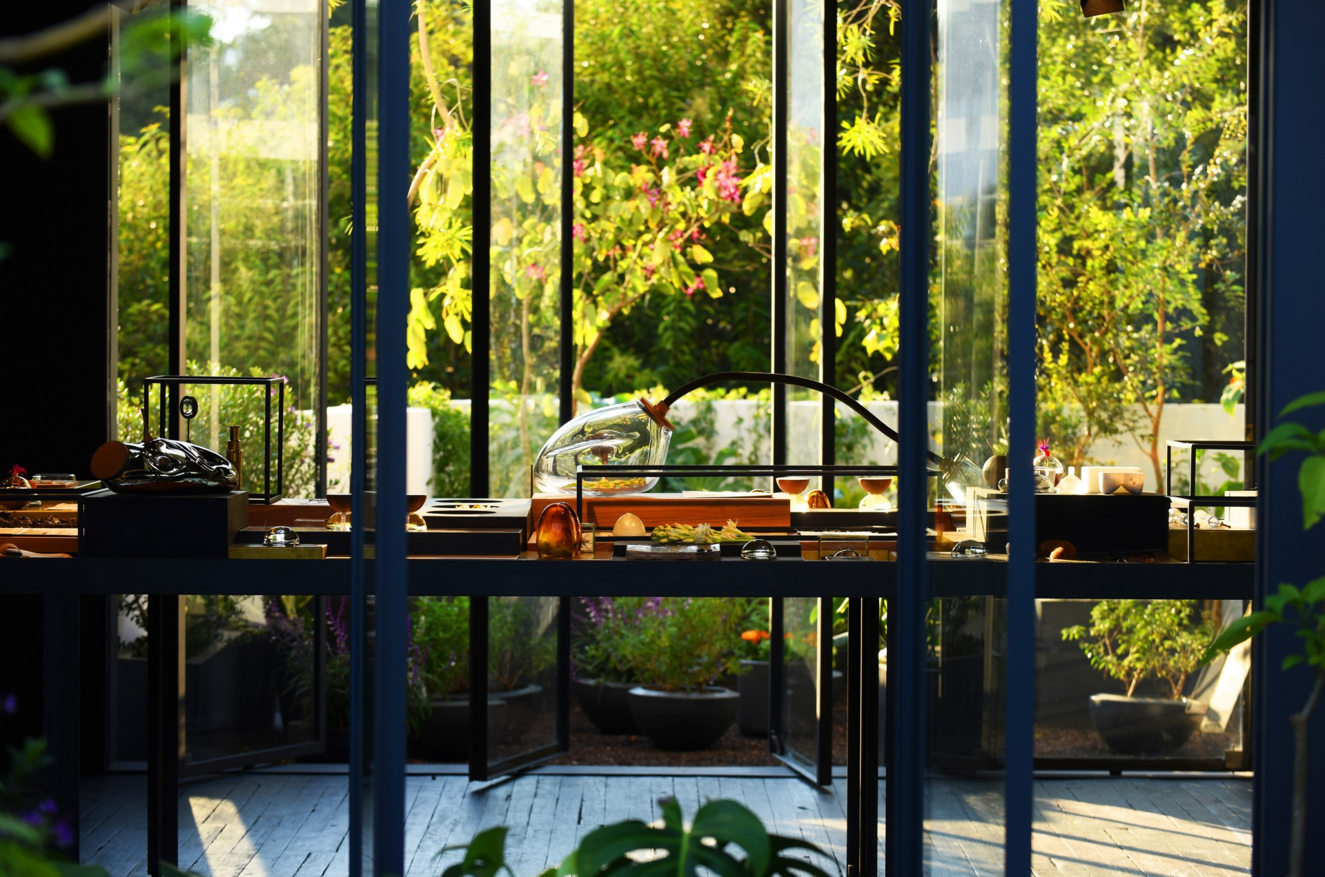 Xinù Perfumes' secret garden created by Cadena + Esrawe