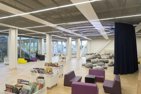 OMA's Alexis de Tocqueville library in Caen la mer