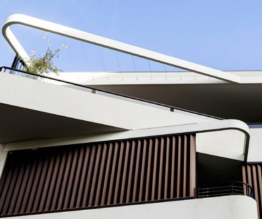 Luigi Rosselli Architects Duplex in the city, Sydney