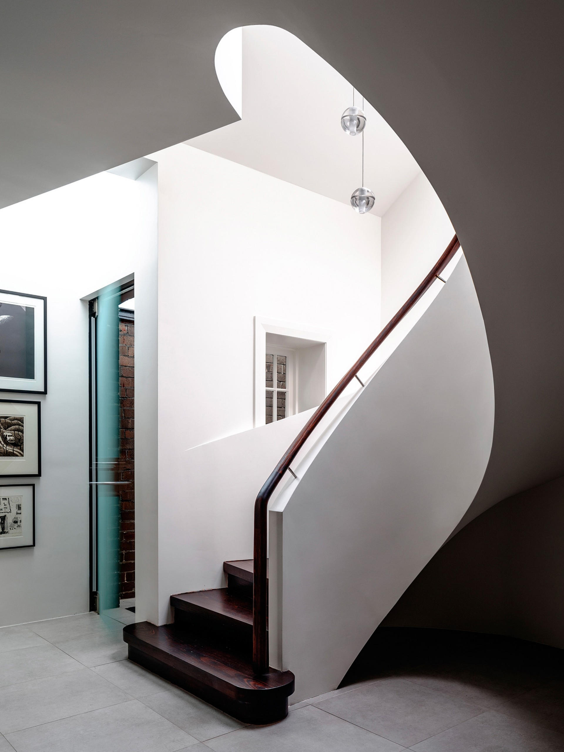 Luigi Rosselli Architects Duplex in the city Sydney | Floornature