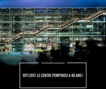 Paris's Centre Pompidou is 40 years old