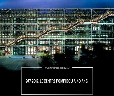 Paris's Centre Pompidou is 40 years old