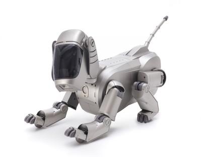 H. Sorayama, Sony Corporation, AIBO Entertainment Robot (ERS-110) ph A.Sütterlin