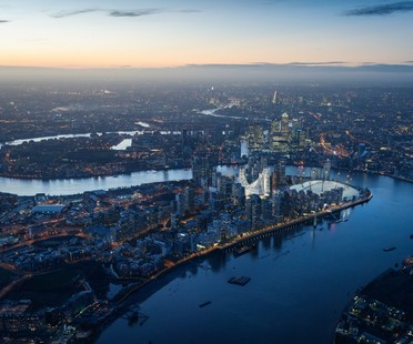 Santiago Calatrava transforms London's Greenwich Peninsula
