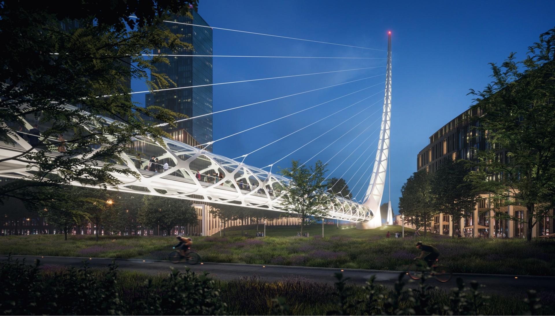 Santiago Calatrava Transforms London S Greenwich Peninsula