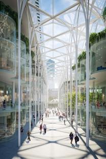 Santiago Calatrava transforms London's Greenwich Peninsula