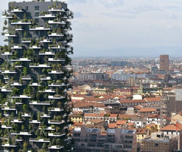 New buildings in Milan