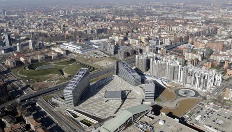 New buildings in Milan
