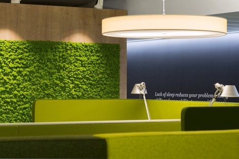 PwC's Basel offices are wellness centres