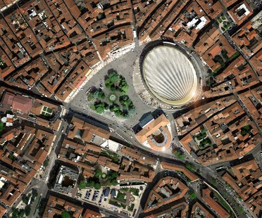 gmp and sbp New roof over the Arena in Verona