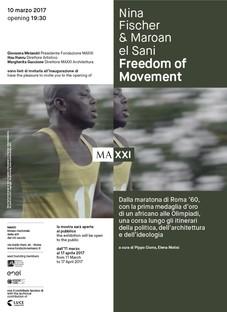 Maxxi Nina Fischer & Maroan el Sani installation FREEDOM OF MOVEMENT