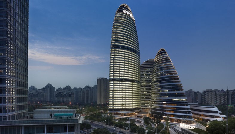 Award for Zaha Hadid Architects' Wangjing Soho