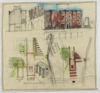 Aldo Rossi and Milan 1955-1995 exhibition