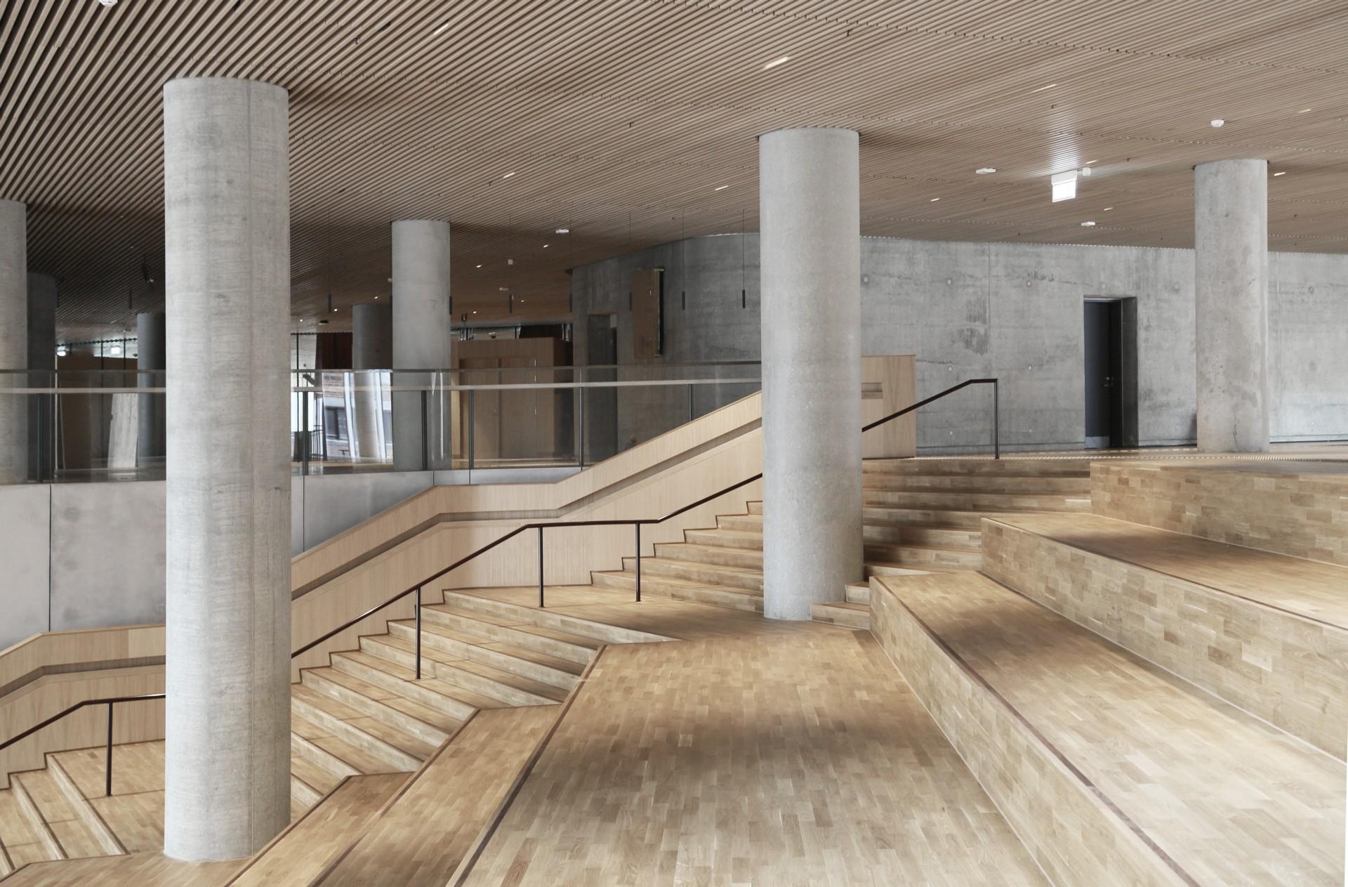 C.F. Møller Architects Maersk Tower iconic building in Copenhagen