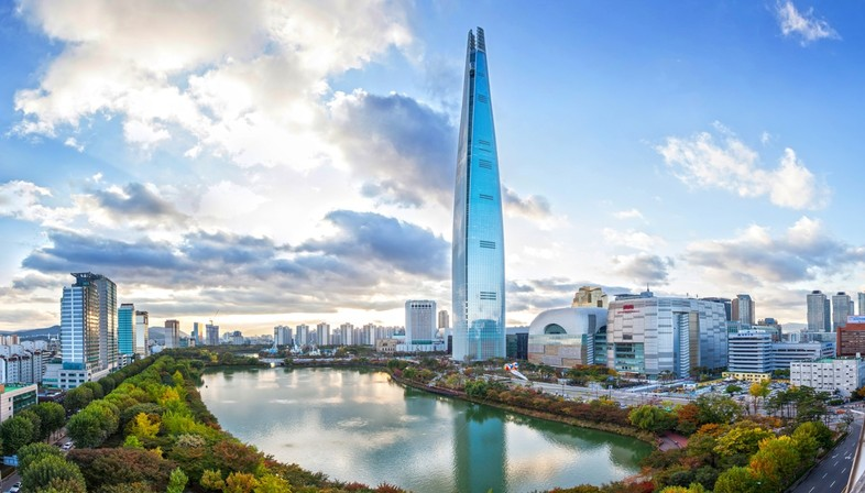 Lotte World Tower: the world's fifth tallest skyscraper is in Seoul | Floornature