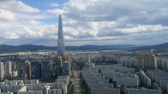 Lotte World Tower: the world's fifth tallest skyscraper is in Seoul