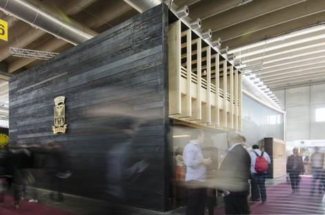 Edoardo Milesi & Archos Castello Banfi stand at Vinitaly 2017
