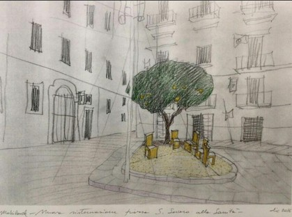 Naples, Rione Sanità: two piazzas restored to Beauty