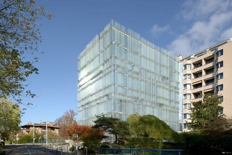 Giovanni Vaccarini New Headquarters of the SPG Société Privée de Gérance, Geneva
