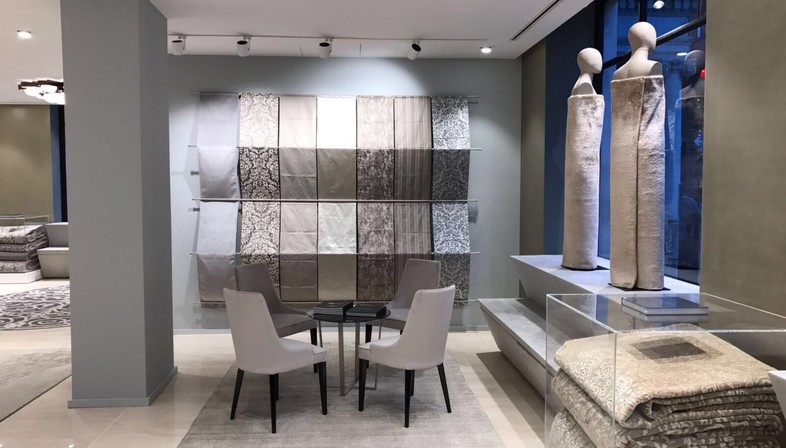 The Interior, Designed By Marco Piva Is Simple And Functional, An Elegant  Space With Predominantly Neutral Tones: Grey, Dove And White. The Showroom  Has Two ...