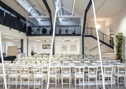 Factory Valle 3.0 with Iris Ceramica opens the doors to European architects