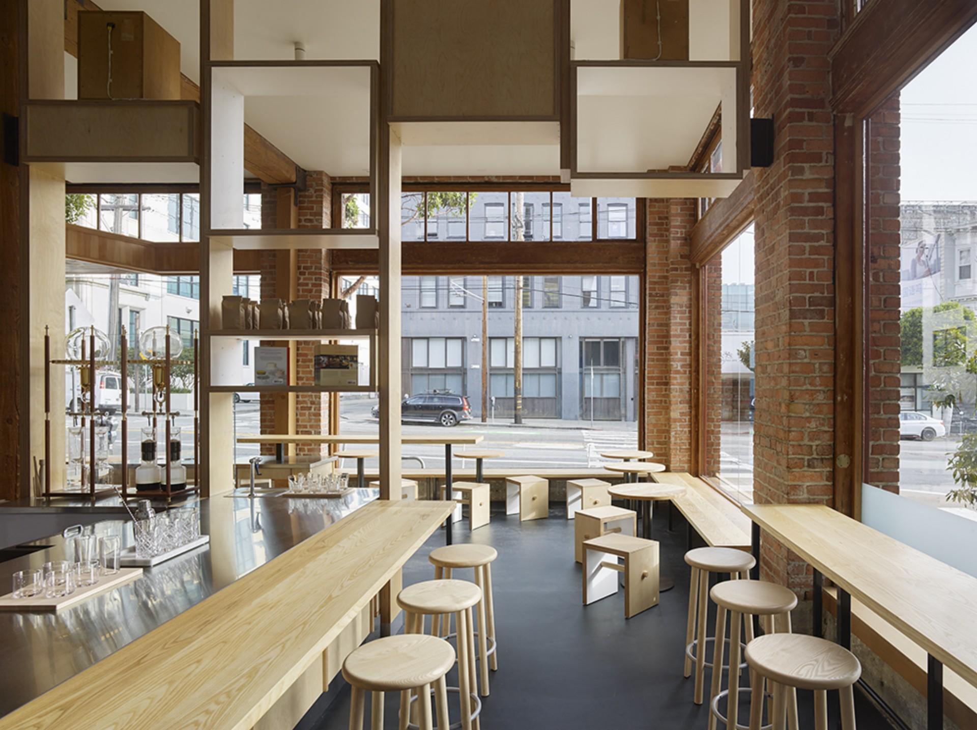 Bohlin Cywinski Jackson Bay Area Cafe Interior Design
