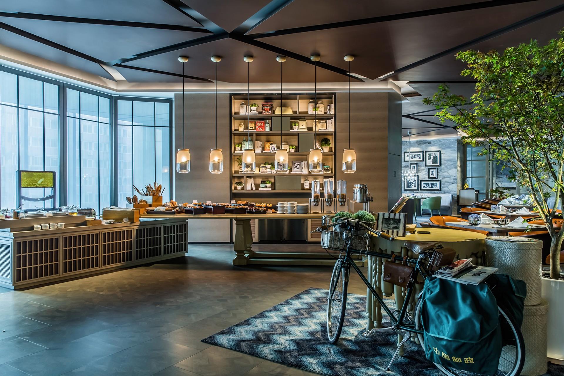 New Yuppies – Intercontinental Beijing Sanlitun by Cheng Chung Design