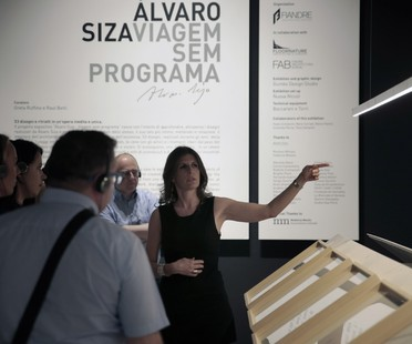 A visit to the Alvaro Siza. Viagem Sem Programa exhibition at FAB Castellarano