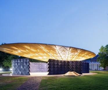 The Serpentine Pavilion by Diébédo Francis Kéré opens