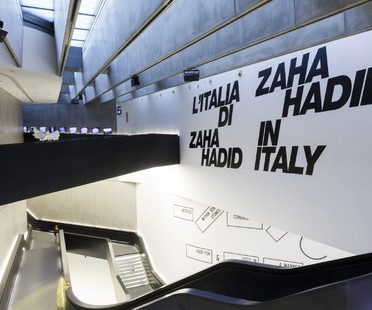 L'Italia di Zaha Hadid exhibition at Maxxi