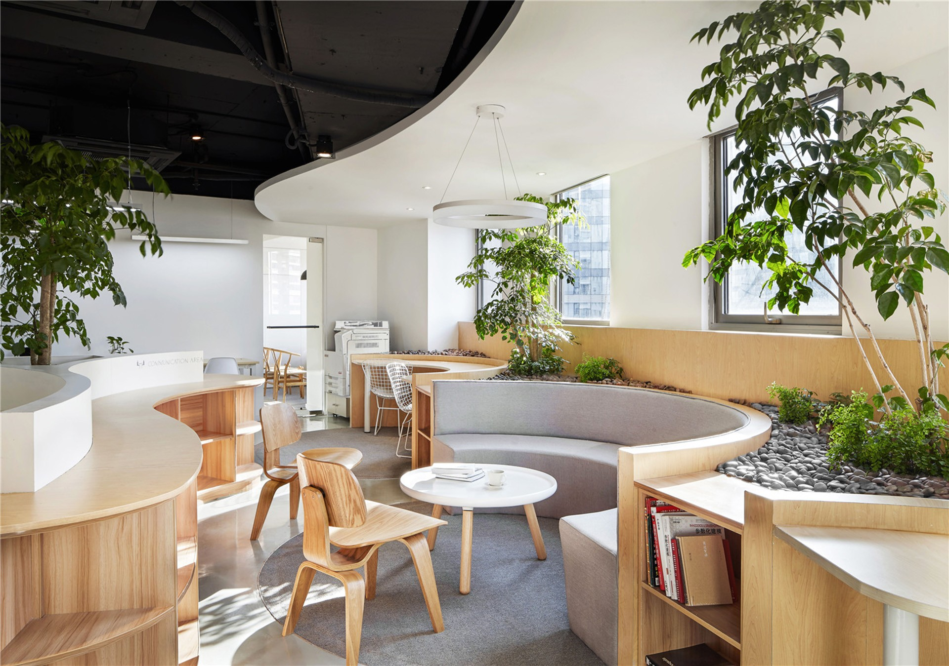 Celebrating Nature An Office By Muxin Design And Research