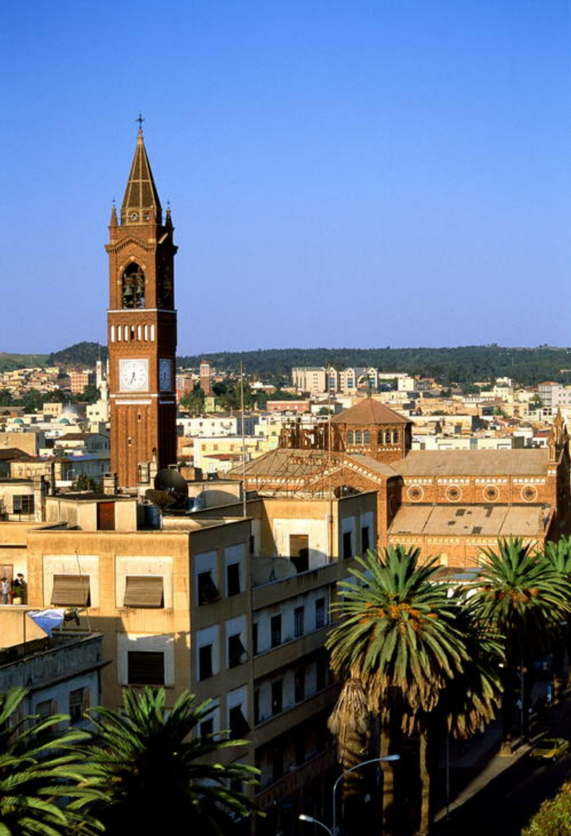 Asmara, a UNESCO World Heritage modernist city in Africa