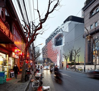 UNStudio's Lane 189, new spaces for retail and relaxation in Shanghai