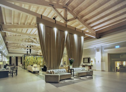 Marco Piva's restyling for the interior of the Donnafugata Golf Resort & SPA Ragusa