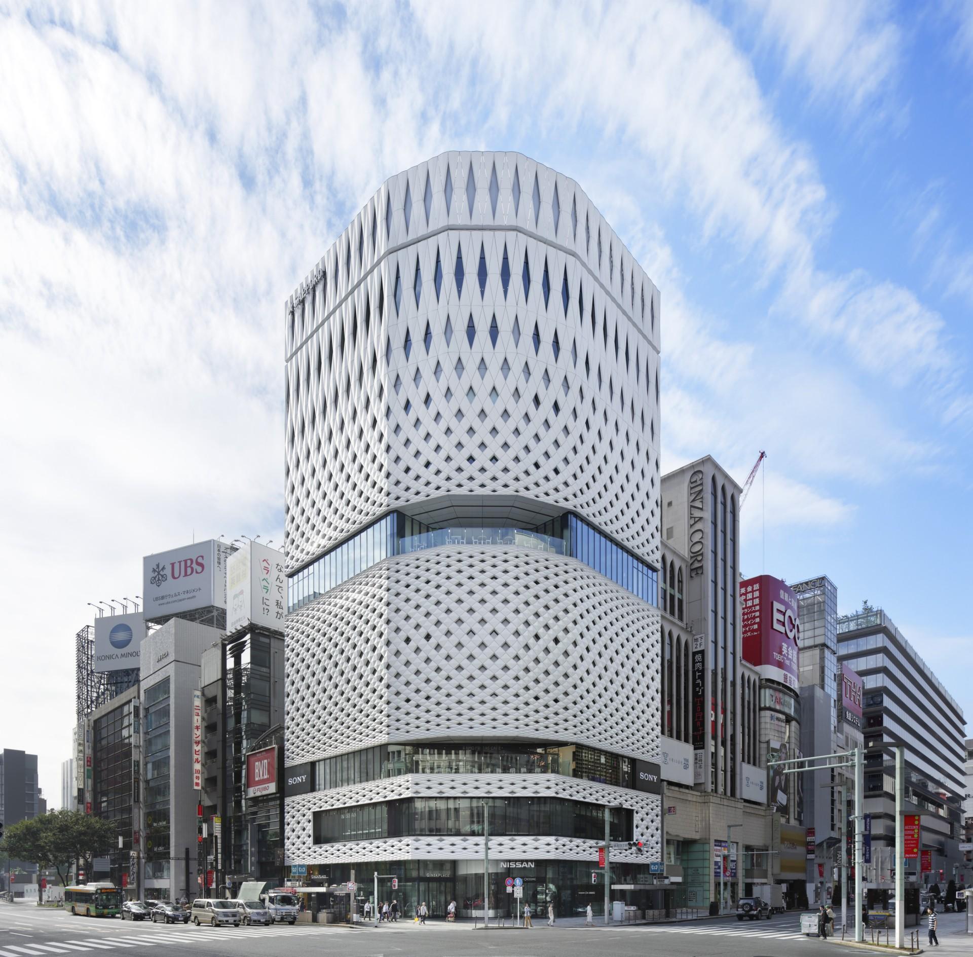 Ginza Place Tokyo Klein Dytham Architecture Floornature
