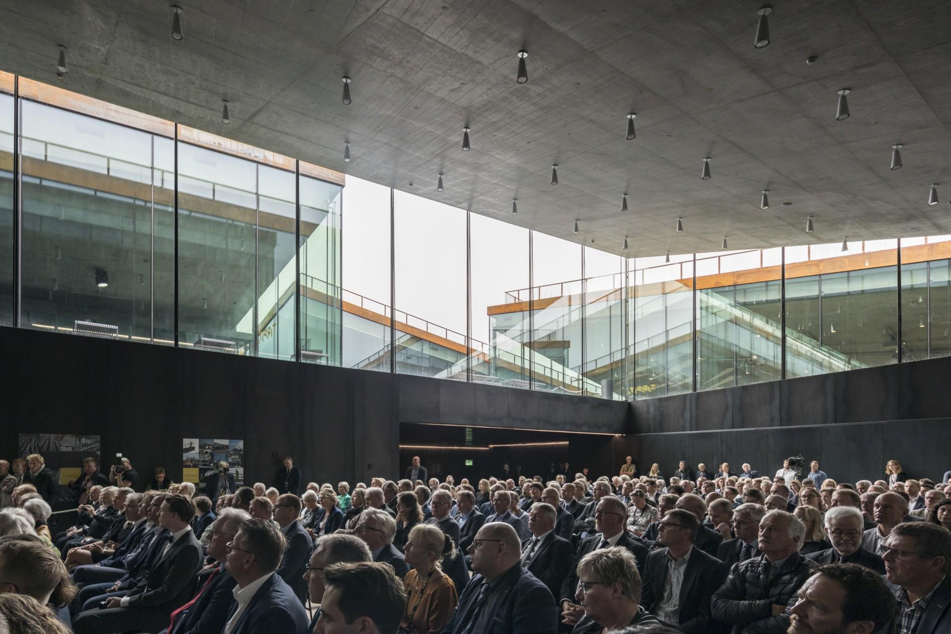 BIG Bjarke Ingels Group Tirpitz the invisible museum in Denmark